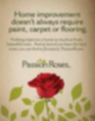 Passion Roses passionroses.com print ad
