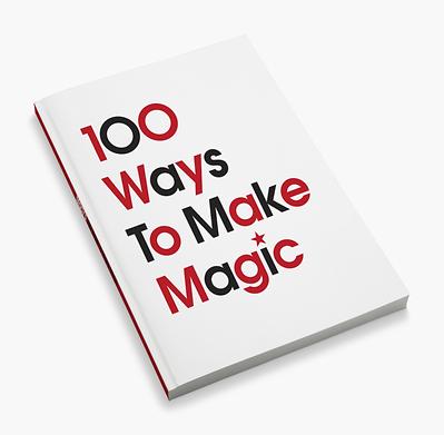 Macy's 100 Ways To Make Magic employee handbook