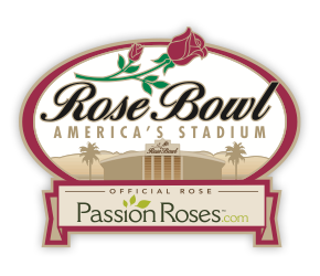 Passion Roses passionroses.com Official Rose of the Rose Bowl logo