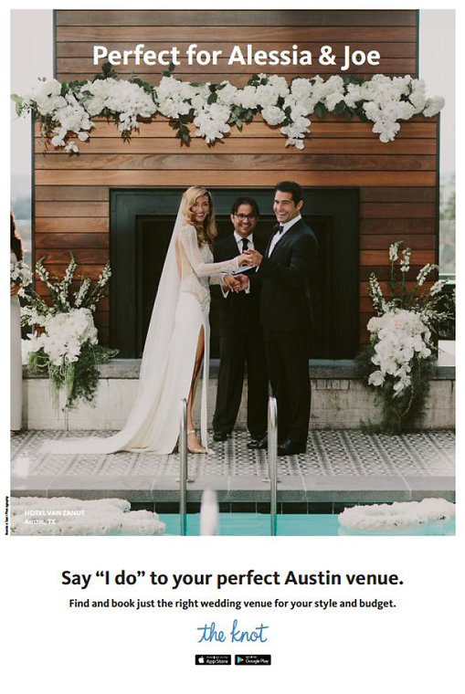 The Knot I do Austin ad