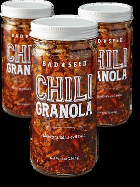 bad seed chili granola