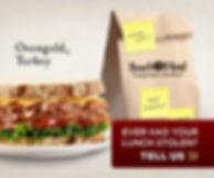 Boar's Head Ovengold Turkey Sandwich Digital Ad