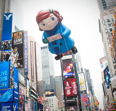 Macy's Yes Virginia Thanksgiving Day Parade Float