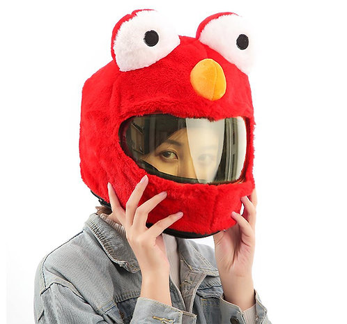 Funda Cubre Casco Moto / Funny Motorcycle Helmet Cover WH058