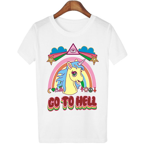 Unicorn T Shirt / Camiseta Unicornio Wh220