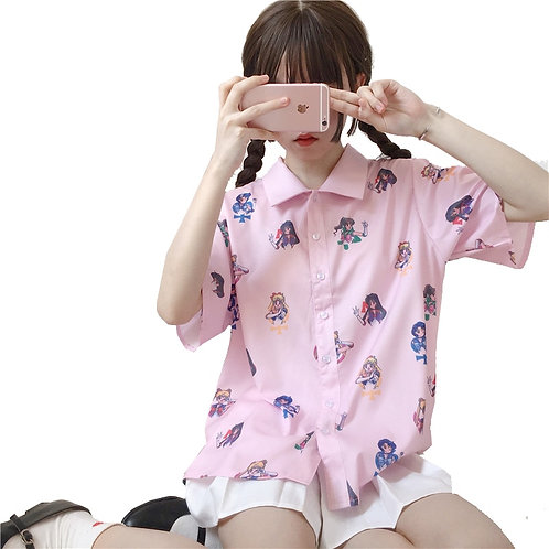 Camisa Sailor Moon Blouse WH487