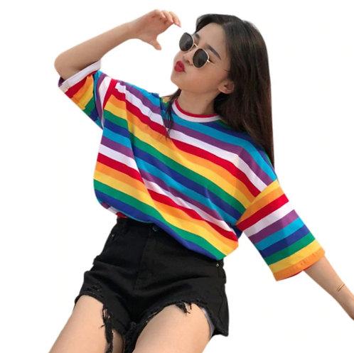 Camiseta Arcoiris / Rainbow T-Shirt WH376