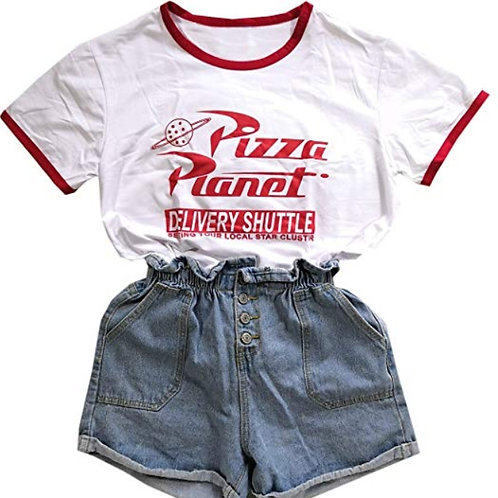 Camiseta Pizza Planet T-Shirt WH306