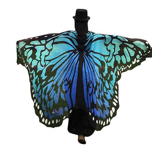 Pañuelo Mariposa / Butterfly Shawl WH136