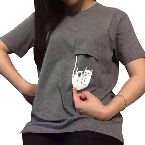 Camiseta Gato / Cat T-Shirt WH118
