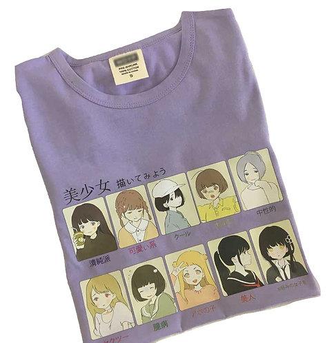 Camiseta Harajuku T-Shirt WH296