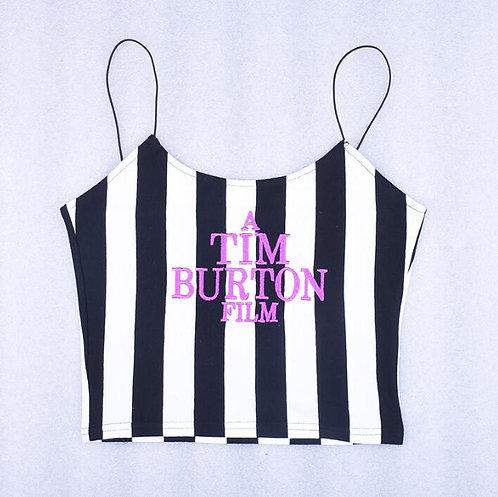 Camiseta Tirantes Beetlejuice Tim Burton T-Shirt Tank Top WH445