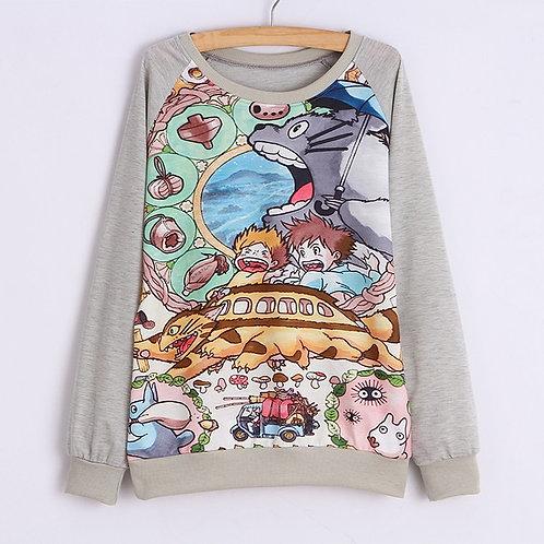 Totoro Sweatshirt Sudadera Wh214
