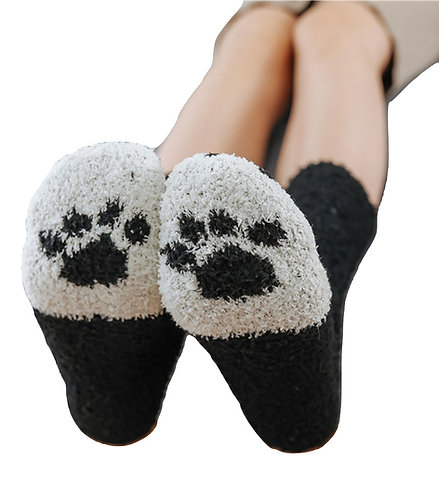 Calcetines Huella Gato / Cat Paw Claw Socks WH133