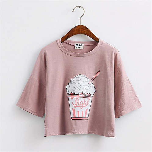 Camiseta Batido / Milkshake T-Shirt WH424