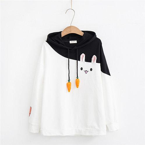 Sudadera Conejo Zanahoria / Rabbit Carrot Hoodie WH499