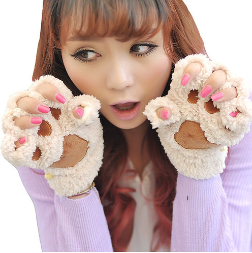 Cat Gloves / Guantes Gato Wh003