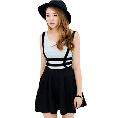 Suspender Skirt / Falda Tirantes Wh065