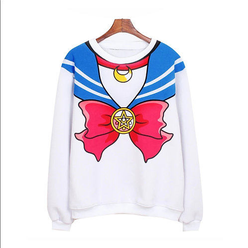 Sailor Moon Sweatshirt Sudadera Wh021