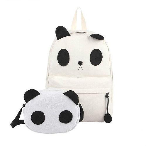 Backpack+Panda Bag / Mochila+Bolso Panda WH238