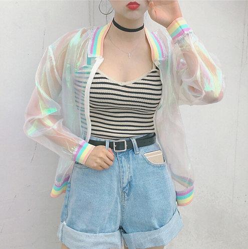 Chaqueta Transparente / Transparent Jacket WH061