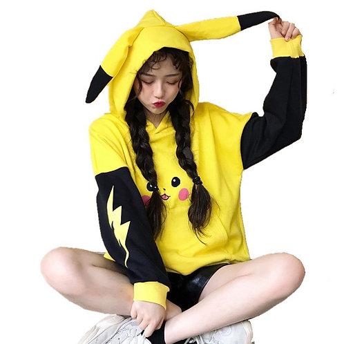 Sudadera Pikachu Pokemon Hoodie WH205