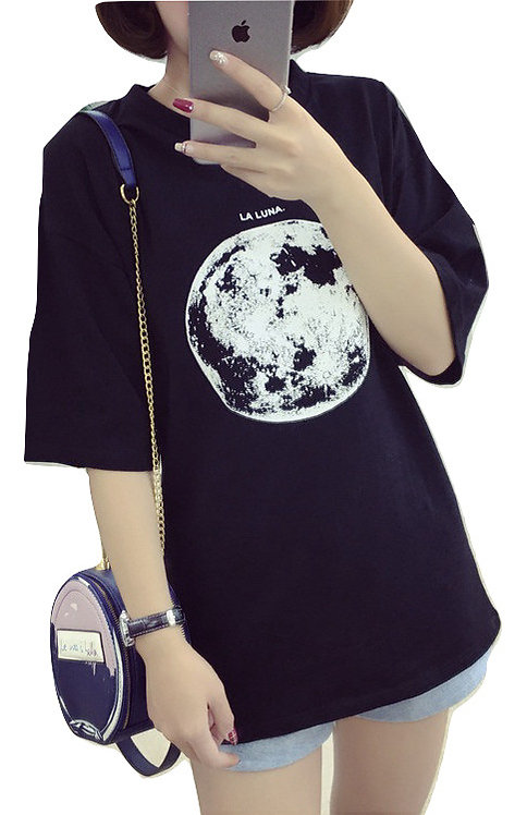 Camiseta Luna / Moon T-Shirt WH062