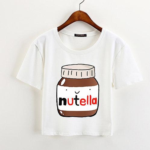 Nutella T-Shirt Camiseta Wh014