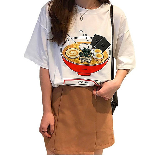 Camiseta Ramen / Japanese Noodles T-Shirt WH416