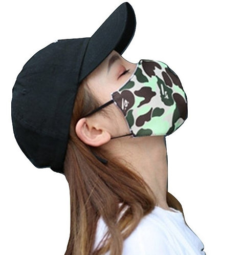 Mascarilla Camuflaje / Camouflage Face Mouth Mask WH519