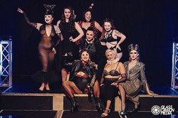The cast of Riot Circus