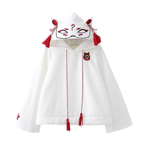 Sudadera Zorro Kitsune / Inari Fox Hoodie WH228