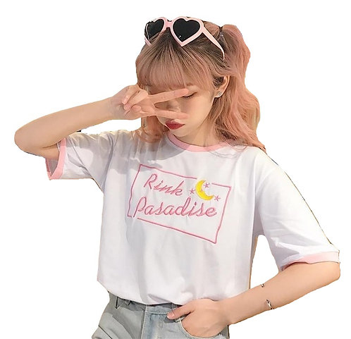 Camiseta Pink Paradise T-Shirt WH040