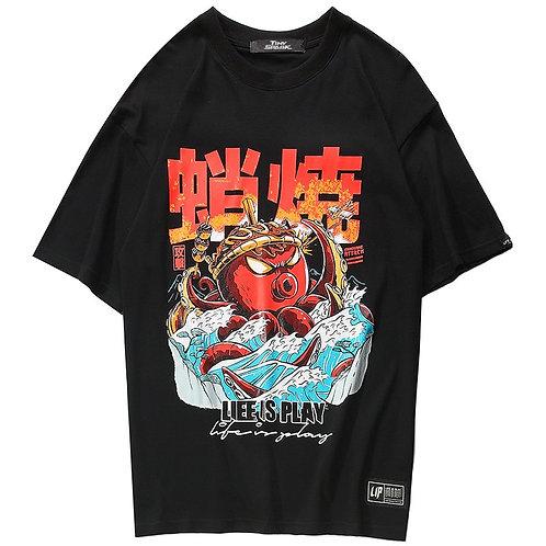 Camiseta Pulpo Takoyaki Octopus T-Shirt WH448