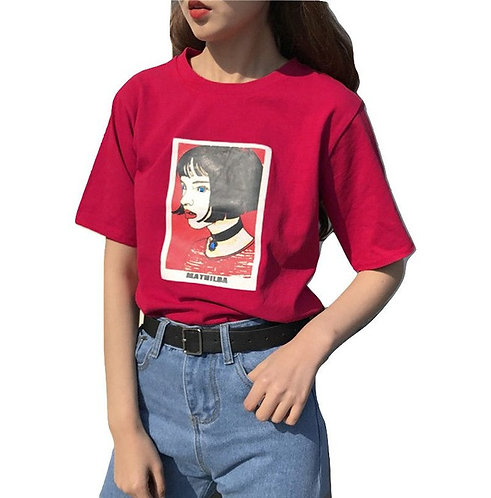 Camiseta Leon Professional Mathilda T-Shirt WH414