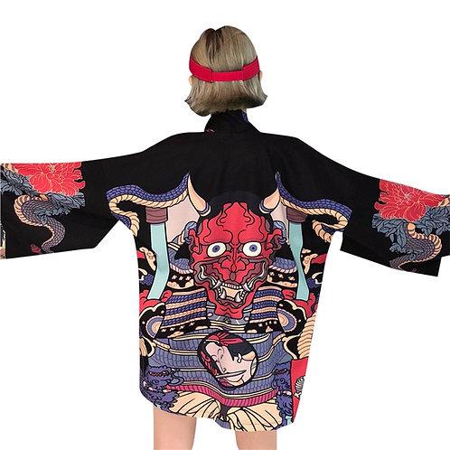 Chaqueta Kimono Demonio Hannya Oni Demon Jacket WH240
