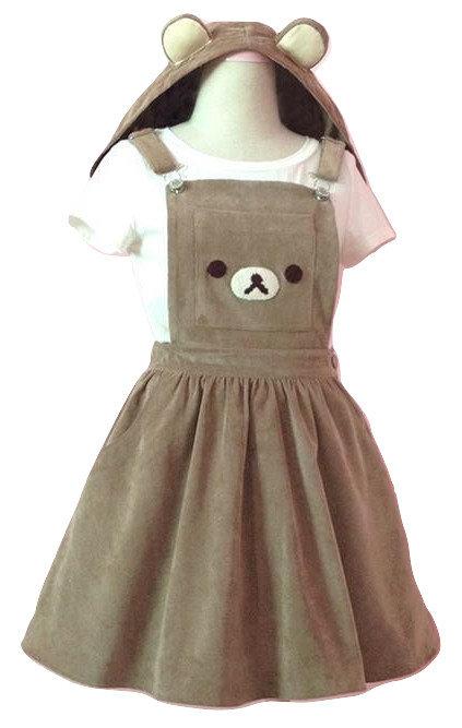 Vestido Rilakkuma Dress WH158