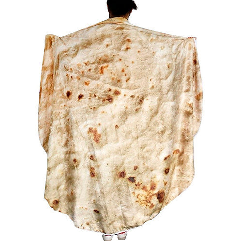 Mexican Burrito Blanket Tortilla Mexicana Manta WH371