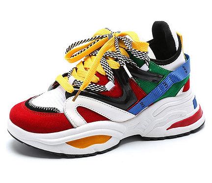 Zapatillas Deportivas Harajuku / Colorful 90s Sneakers WH478