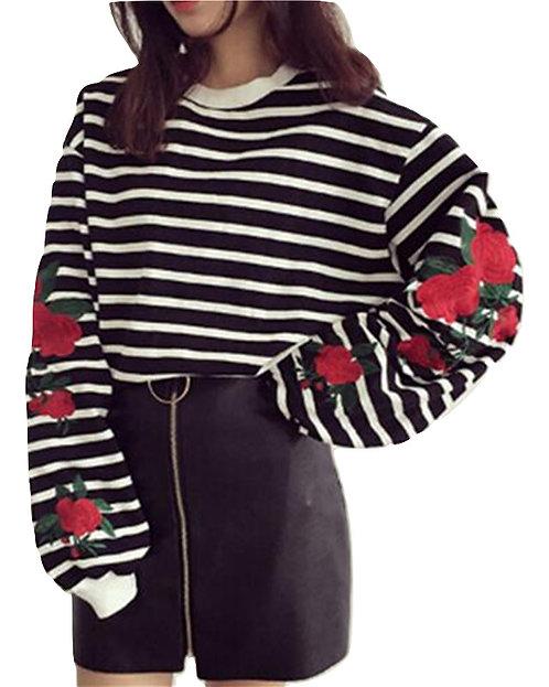 Sudadera Rayas / Stripped Sweatshirt WH271