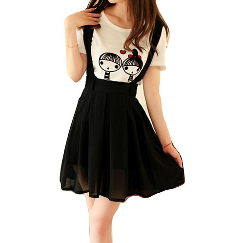 Falda Tirantes / Suspenders Skirt WH374