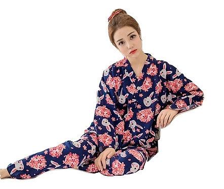 Pijama Conejos Kimono Bunnies Pajamas WH218