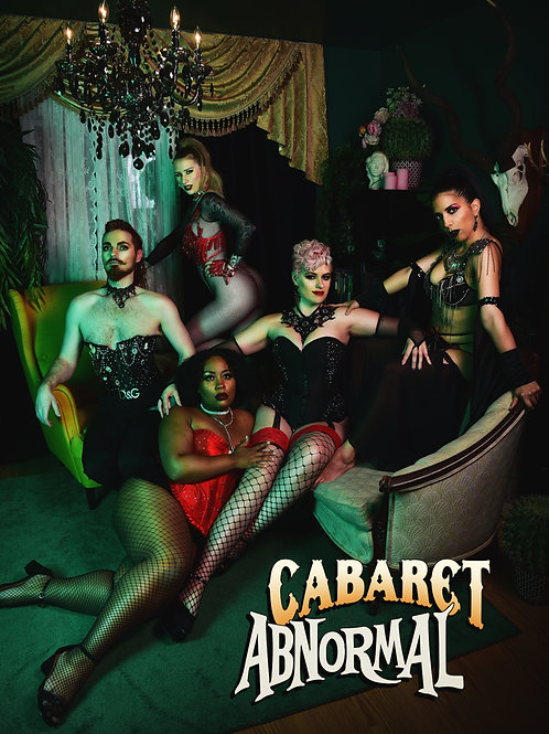 Cabaret Abnormal postcard print