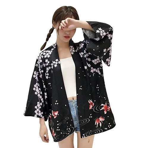 Kimono Peces Koi / Koi Fish Kimono WH434