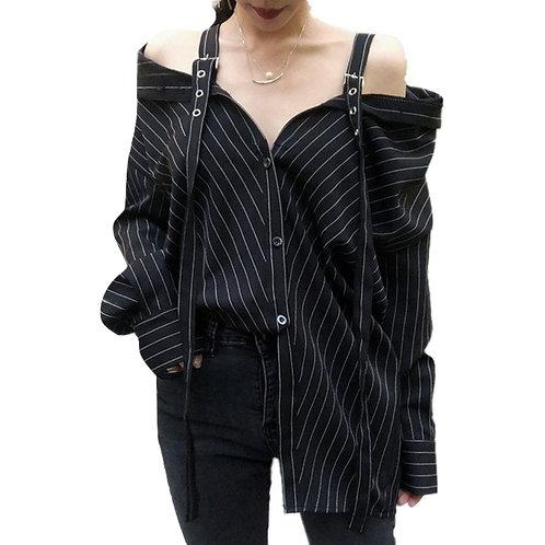 Camisa Straps / Off Shoulder Shirt WH097