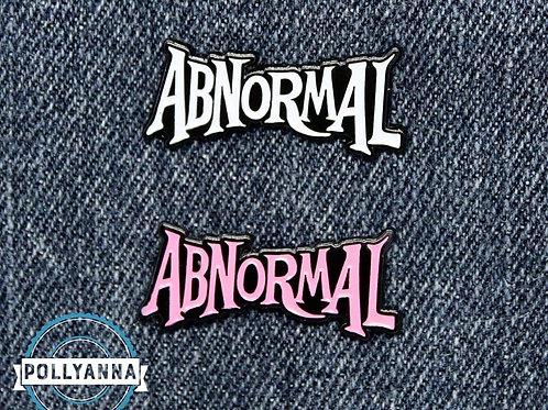 Abnormal enamel pins - PINK & WHITE