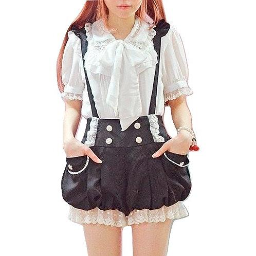 Pantalones Tirantes / Suspender Shorts Wh294