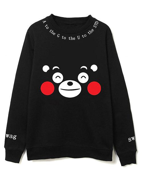 Sudadera Oso Kumamon Kumamoto Bear Sweatshirt WH304