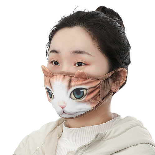 Mascarilla Gato Japonesa / Japanese Cat Mask WH513