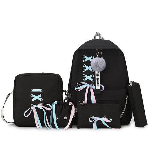 Mochila Gothic Lolita Bandage Backpack WH110